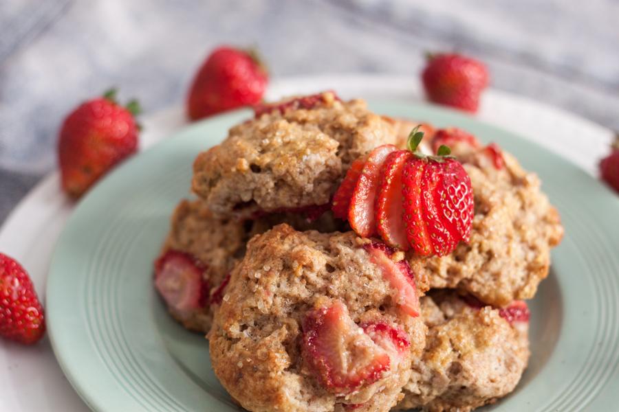 Whole Wheat Strawberry Scones + Toronto Picnickers | Cupcakes Always ...