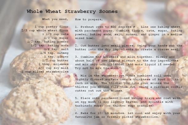 Recipe-strawberryscones