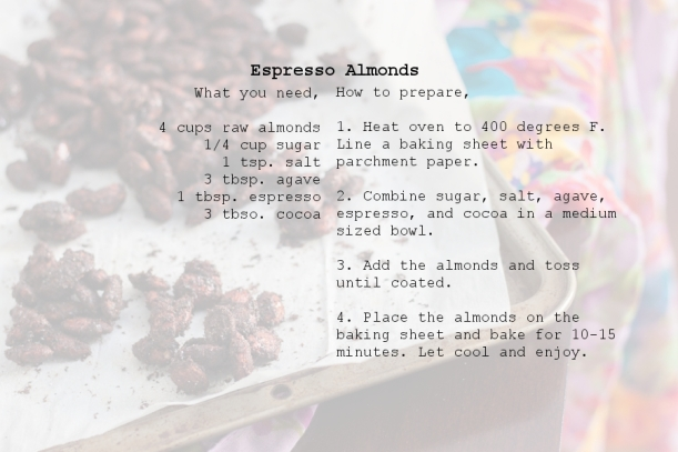 EspressoAlmondsREcipe